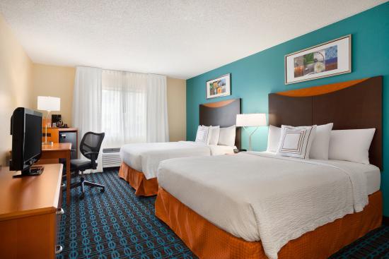 Abilene, Teksas: Queen/Queen Guest Room