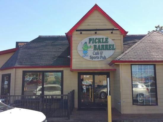 Pickle Barrell Cafe Sports Pub Milledgeville Menu Prices