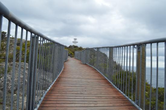 Freycinet National Park, Australia: Well designed walkway to the lighthouse.