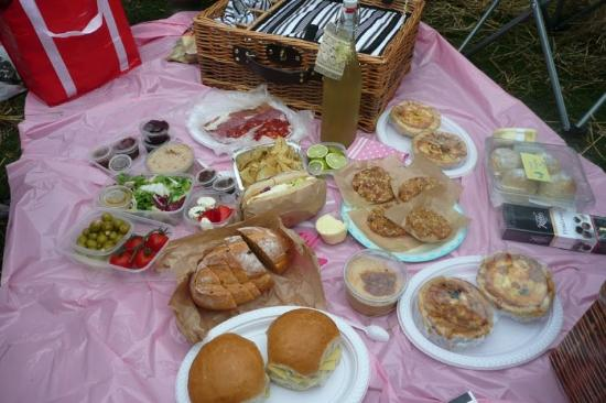 Dronfield, UK: Picnics to order