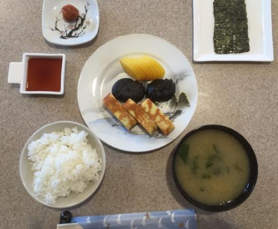 New Ashford, MA: Japanese breakfast is an option