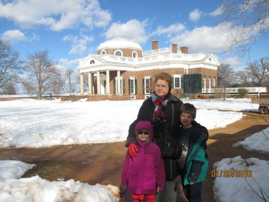 Το Monticello του Thomas Jefferson: It was winter!