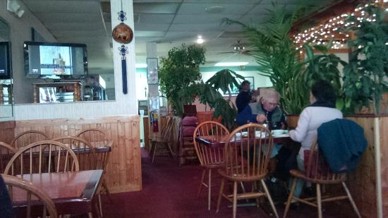 Marietta, Georgien: Toward the back of the restaurant