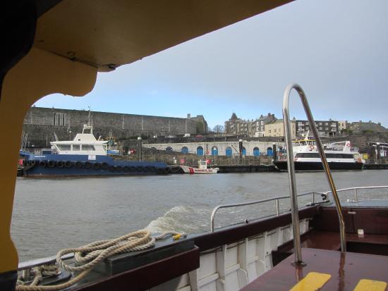 Mount Batten Ferry: En route
