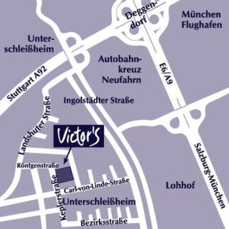 Unterschleissheim, Alemania: Map