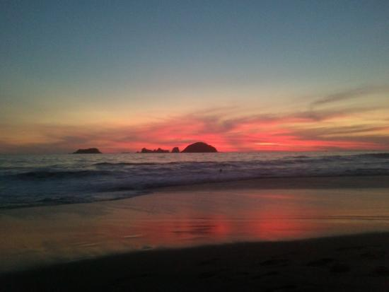Playa Blanca, المكسيك: Atardecer en Playa Blanca
