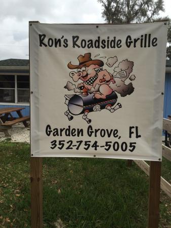 Hernando, Φλόριντα: Road sign