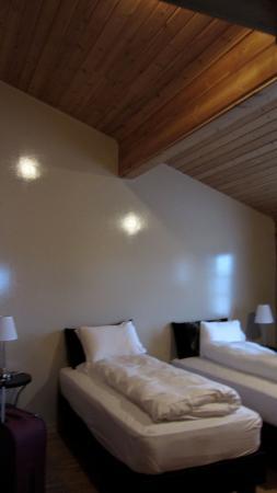 Breiddalsvik, Islandia: Nuestras super cómodas camas
