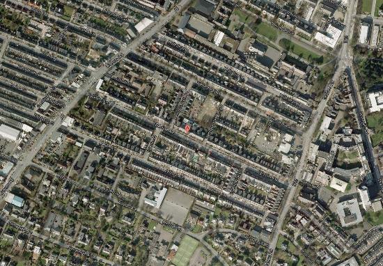 Malone Lodge Hotel & Apartments: Map