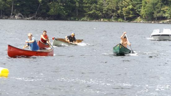 Lake of Bays, Canadá: summer regatta!