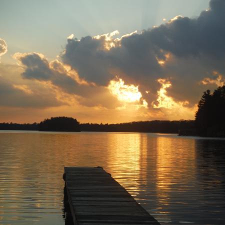 Lake of Bays, Canadá: November sunset!