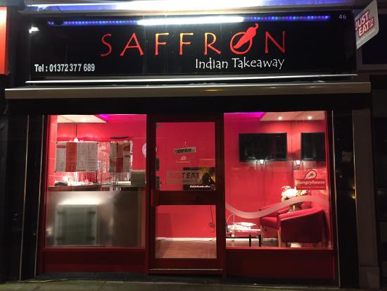 Leatherhead, UK: Welcome to Saffron.  Let us indulge you to the finest Indian dishes. 10% discount code: TA10