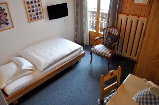 Champery, İsviçre: Single room