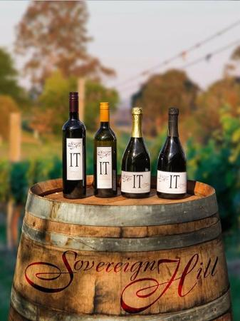 Sovereign Hill Country Lodge: Sovereign Hill Wines
