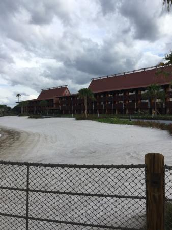 Disney's Polynesian Village Resort: DVC Villas viewed from the Bungalow's