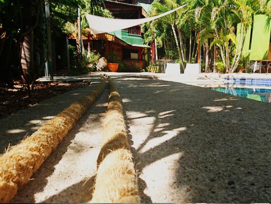 Playa Grande, คอสตาริกา: Crossfit rope