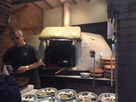 El horno de ladrillo y barro picture of asador de aranda - Horno de ladrillo ...
