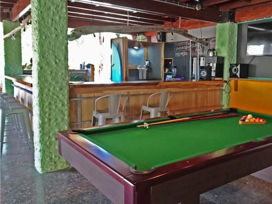 Playa Grande, Costa Rica: Pool table