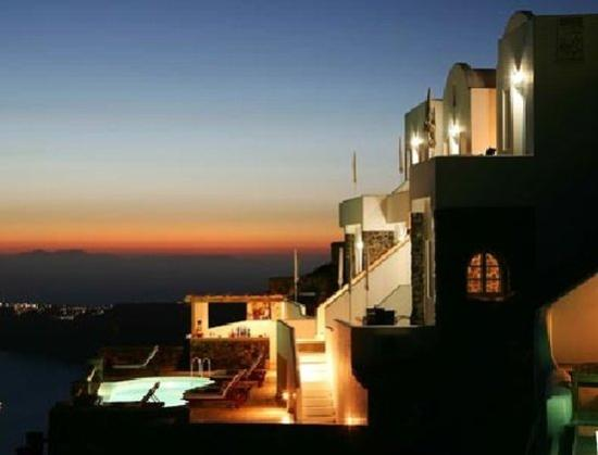 Tholos Resort by the evening...