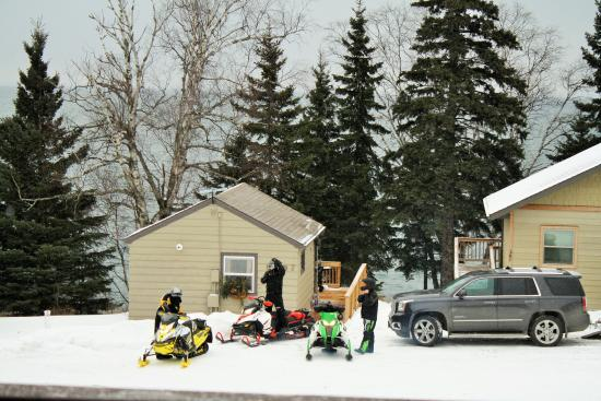 Gooseberry Park Cottages and Motel: The Trails are open!