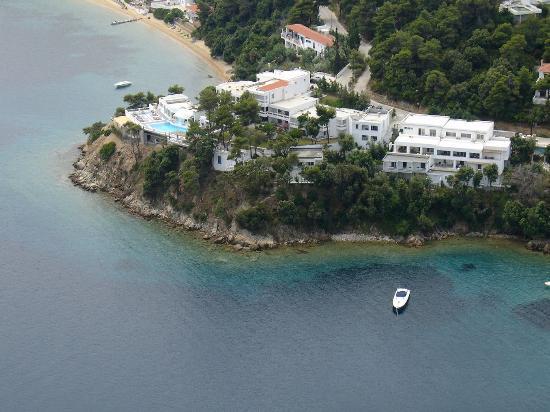 Cape Kanapitsa Hotel & Suites: Hotel Suites Cape Kanapitsa Aerial View