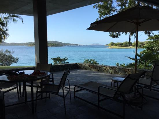 Caneel Bay, St. John: Patio cottage 7 f