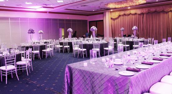 The Jamaica Pegasus Hotel Indoor Wedding Venue