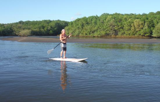 Playa Negra, Costa Rica: Paddle Boarding in the Estuary