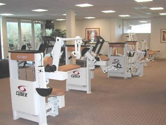 Mountain View, Californië: Fitness Room