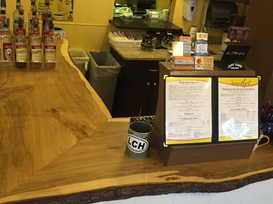 Langhorne Coffee House and Restaurant: Sugar Maple Custom Counter Top