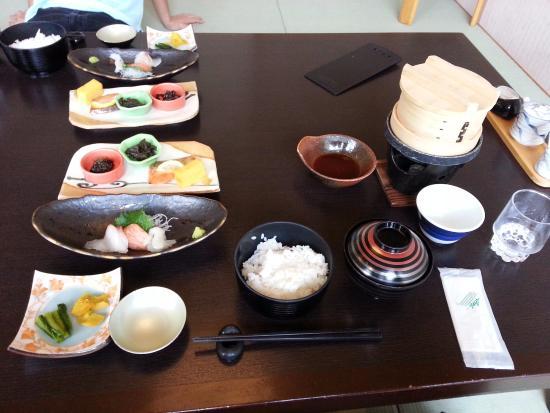 Suwa, Japonia: Free Breakfast