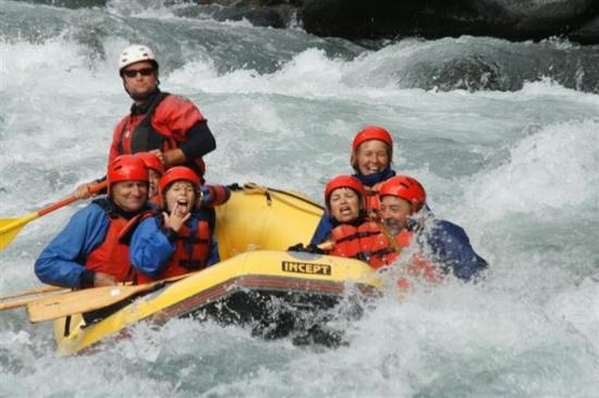 Turangi, Nieuw-Zeeland: Whitewater Rafting