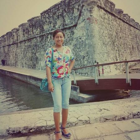Fort of San Juan de Ulua : con mi esposa pasamos un dia muy bonito esta foto aparece la picina donde entraban tiburones