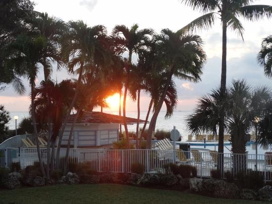 sunset from my front door picture of postcard inn beach resort rh tripadvisor ca