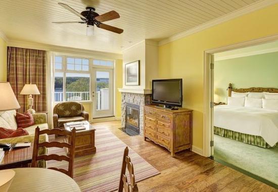 Minett, كندا: One-Bedroom Suite with View