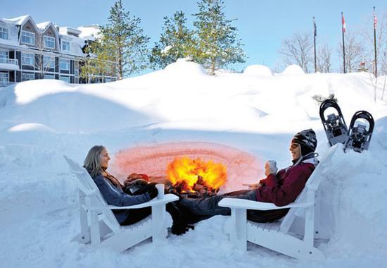 Minett, كندا: Fire Pit