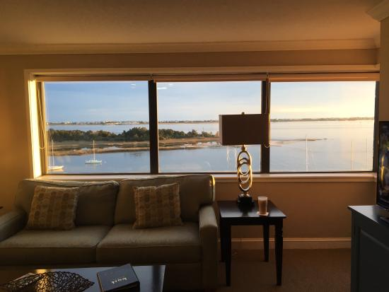 Morehead City, NC: Living room windows view