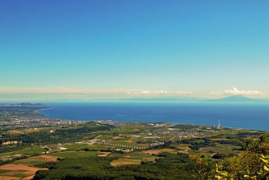 Sobetsu-cho, Ιαπωνία: 有珠山頂上からの景色