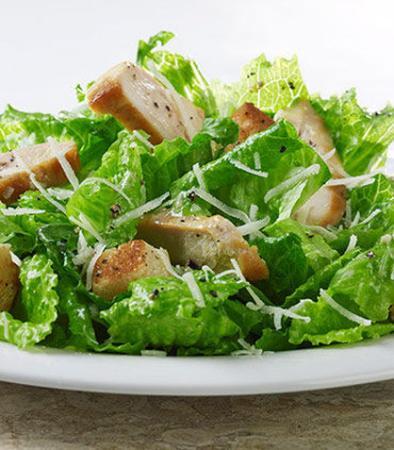 Denton, Teksas: Chicken Caesar Salad