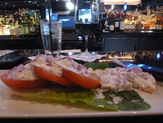 North Miami Beach, FL: Beefsteak tomato salad - marvelous