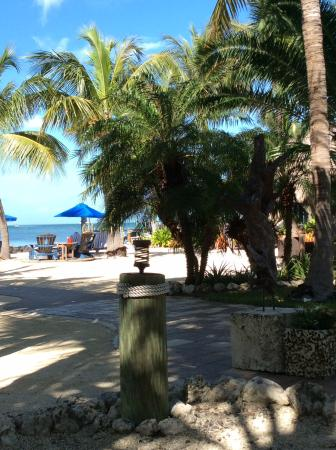 Island Bay Resort: Lovely beach area