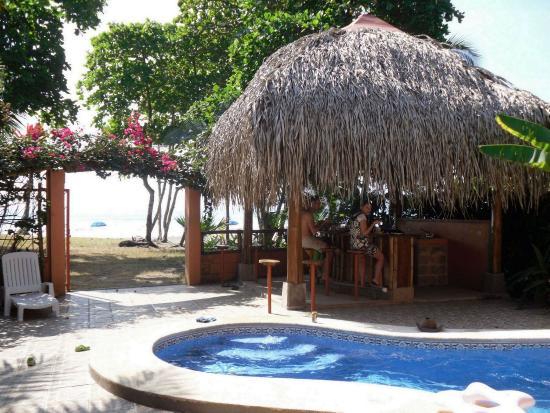 Esterillos Oeste, Costa Rica: Beach gate