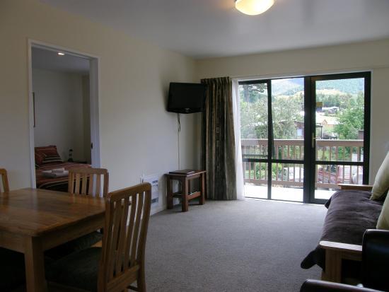 Hanmer Springs, Yeni Zelanda: ONE BEDROOM