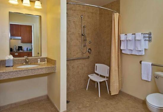 Clinton, MD: Accessible Suite Bathroom