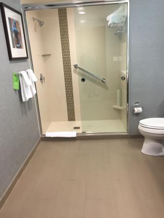 Amherst, Nova York: King Suite Bathroom