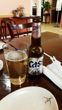 Cary, NC: Cass Korean beer