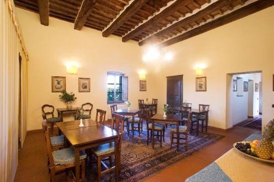 Sorano, Italia: Breakfast room