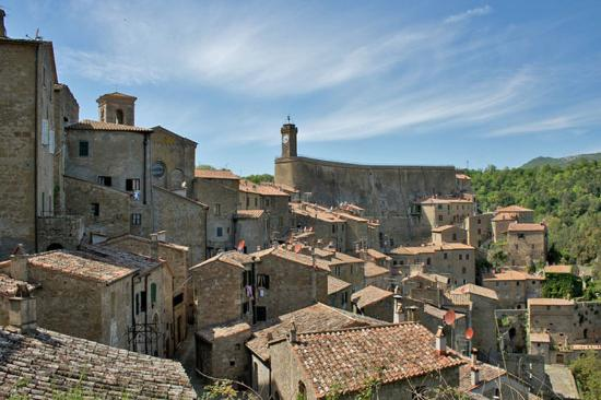 Sorano old town