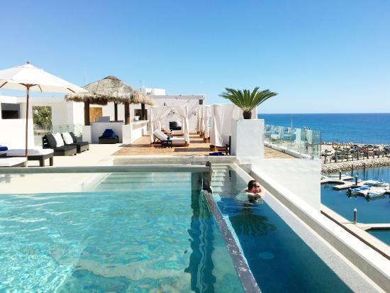 the infinity pool the hot tub picture of hotel el ganzo san rh tripadvisor com sg