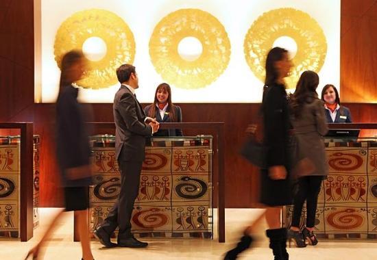 Bogota Marriott Hotel: Lobby
